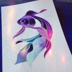 http://www.noregretsstudios.co.uk/watercolour-like-tattoos-by-sasha-unisex/ Flash By Sasha Unisex