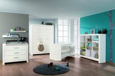 PAIDI   Dieses Babyzimmer in weiß läd zum träumen ein!