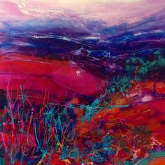 Magenta Hill by Jan Gardner