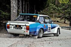 FIAT  131 Mirafiori Abarth  - 3 Rally HISTORIC VALSUGANA  19.03.2011 Fiat 128, Bmw 323i, Fiat Cars, Fiat Abarth, Motosport, Top Cars, Rally Car, Car And Driver, Vintage Racing