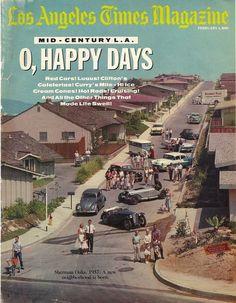 Los Angeles Times Magazine - photo of Sherman Oaks in 1957 California History, Vintage California, California Love, Southern California, California Pictures, San Diego, San Fernando Valley, Baby Boomer, Valley Girls