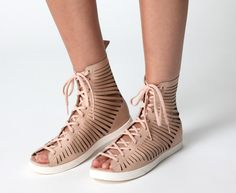 e92103991a22 Nike Open Toe Gladiator Sandals - I saw these in black and almost bought  them last Friday but didn t like the white sole.