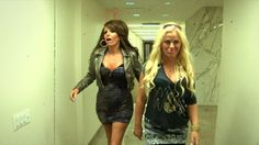 my girl tina, with her girl amy, for their boy jimmy. jersey shore style.