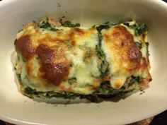 Cohen Diet: Spinach lasagna #cohenlifestyle #lynskitchen Veggie Recipes, Paleo Recipes, Cooking Recipes, Veggie Food, Dukan Diet Food List, Diet Menu, Paleo Diet, Keto, Cohen Diet Recipes