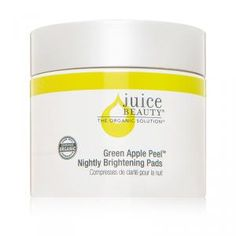 Juice Beauty's Apple Peel Brightening Pads are the perfect way to brighten your skin with a nightly swipe of healthy fruit acids.