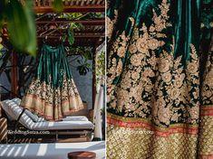 WeddingSutra on Location - Rihaa Kothhari Lehenga Choli, Anarkali, Royal Fashion, Girl Fashion, Lehenga For Girls, Sangeet Outfit, Sabyasachi Bride, Indian Skirt, Bridal Makeover