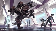 """maciek-nia: """" Mass Effect Andromea - Something to fight for Ben Lo """""""