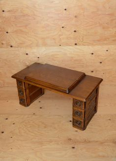Vintage 20's / 30's  Sewing Machine Table-top with Drawers Great For A Low Coffee Table on Etsy, $125.00