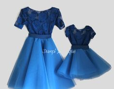 Matching Mom and Daughter Royal Roses Outfit/Matching