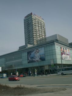 Warszawa// The East Side of Marszalkowska Street in…