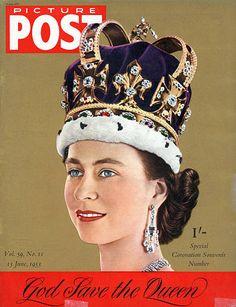 New Queen Queen Elizabeth Wedding, Queen Elizabeth Ii, Chester Cathedral, Uk Magazines, Magazine Pictures, Victoria, Life Magazine, Duke And Duchess, Diana