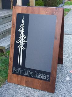 Pacific Coffee, Sign I, Chalkboard Quotes, Art Quotes, How To Make, Design, Design Comics