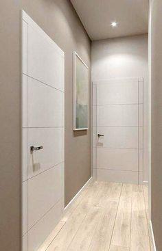 Interior Home Design Trends For 2020 - New ideas House Paint Interior, Door Design Interior, Home Room Design, Apartment Interior, Modern Interior Doors, Interior Ideas, House Ceiling Design, House Design, Home Deco