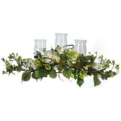 Hydrangea Triple Candelabrum Centerpiece will provide years of use. The Hydrangea Triple Candelabrum Centerpiece is a lovely arrangement set on twisted twigs and lush green blooming ivy with loads of berries, and 4 big Hydrangea blooms. Peonies Centerpiece, Hydrangea Arrangements, Flower Centerpieces, Table Arrangements, Candelabra Centerpiece, Wedding Centrepieces, Christmas Centerpieces, Hydrangea Not Blooming, Green Hydrangea