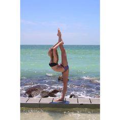 cheerleading | Tumblr ❤ liked on Polyvore Wanting a needle so baaadddd!!!!❤