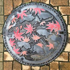 I Found Some Beautiful Japanese Manhole Covers During My Last Trip There   Bored Panda