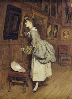 Sir William Quiller-Orchardson - In the Picture Gallery, date? - Scotland