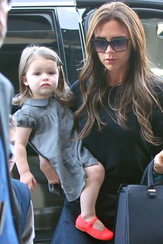 VICTORIA BECKHAM doesn't want daughter Harper to be an early adopter of cosmetics – so much so, that she doesn't let her watch when she applies make-up.
