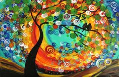 colorful fun painting