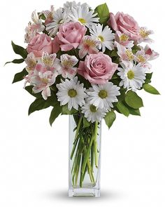 cool Sincerely Yours Bouquet, Pamper her with pale pink carnations, pristine white daisies… and your thoughtfulness. A sweet, simple statement of your sincere love, this light, delicate bouquet will make her smile. ,  http://sendflowerstocalgary.com/product/sincerely-yours-bouquet-send-flowers-to-calgary-by-calgary-flowers/, 59.95