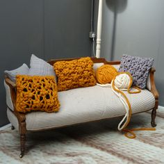 Melanie Porter's gorgeous knitted creations