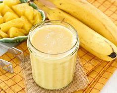 Start your day with this delicious Pineapple Banana Smoothie. It's a glass of tropical sunshine with a slight and refreshing tanginess.