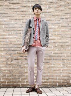 Tokyo street fashion : sweet tone