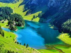 Fjord, Seen, Switzerland, Golf Courses, Hiking, River, Outdoor, Birds Eye View, Gap Year