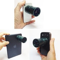 Snooperscope Night Vision Scope For Your Smartphone - The Snooperscope smartphone lens allows you to see and capture the world in complete darkness while revealing items not visible to your naked eye. | Geeky Gadgets