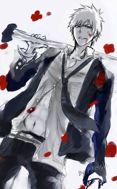 Those blood splatters would be my nosebleed...