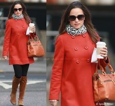 LOVE LOVE LOVE THIS!!!! The perfect Pippa fall outfit!