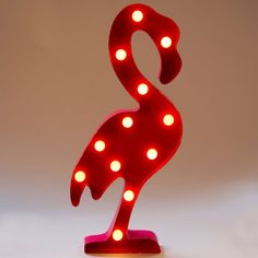 Flamingo Circus Light: Lampada Led Fenicottero Rosa