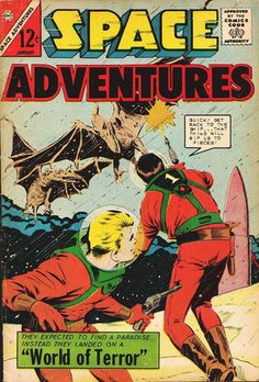 Space Adventures #55 - Comic Book Cover Poster - Available Now…