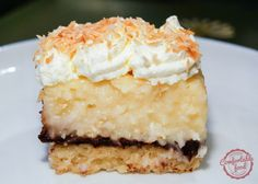 coconut cream pie (and chocolate) bars