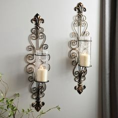 Whether you're framing your bed, or lining them up a staircase, these sconces add style to any space.