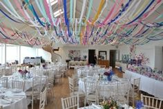 Decor Inspiration Streamers, Farm Wedding, First Birthdays, Scotland, Inspiration, Weddings, Decor, Create, Biblical Inspiration