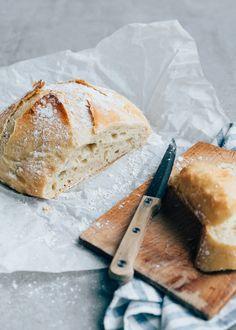 Easy Bread Recipes, Pizza Recipes, Creuset Pan, Spelt Flour, No Knead Bread, Weekly Menu, Dutch Oven, Diy Food, Bread Baking