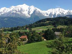 Combloux, Mont Blanc, France