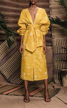 Fashion Tips And Tricks Clothes Mondo Bridal - Johanna Ortiz - San Bernardo Del Viento Cotton Poplin Dress Summer Work Outfits, Summer Dresses, Maxi Dresses, Casual Dresses, Vacation Dresses, Look Fashion, Fashion Design, Fashion Trends, Fashion Women
