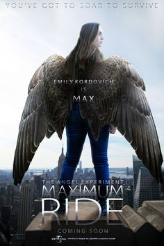 Maximum Ride: The Angel Experiment Movie Poster by IAmEmilyK on DeviantArt This movie needs to happen! I loved the books!