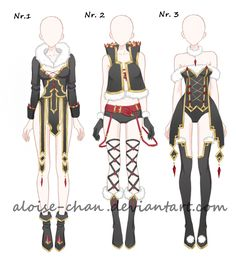 [OPEN LOWER PRICE] Spike Armour Nr. 2 Adoptables by Aloise-chan.deviantart.com on @DeviantArt
