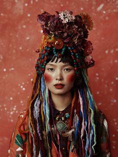 Tibet girl by KIKIXUE