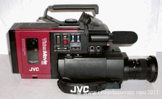Rewind Museum. A museum of vintage camcorders. Betamovie, VHS C ...