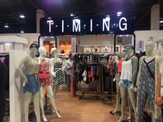 Timing booth at #wwdmagic Feb 17, 2015 #magiclv #magicconvention #magicready #timingfashion #lumieretiming