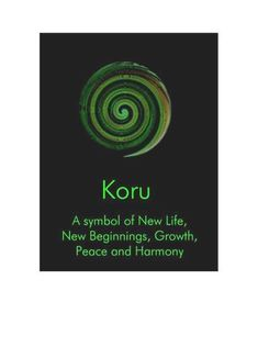 New Zealand Koru New Beginnings - NZ636 - new, card, koru, symbol, life, beginnings, ... - The Chelsea Card Co.