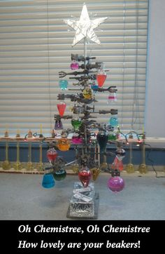 One year I will actually make a Chemistree.