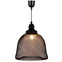 Lampa wisząca Zuma Line NET zbudowana jest z bardzo małych, metalowych oczek. Jej nowoczesny i niebanalny wygląd jest bardzo uniwersalny – NET pasować będzie zarówno do łazienki, jak i salonu lub pokoju dziecięcego.