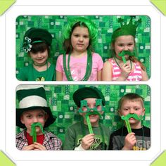 Photo booth idea from Seusstastic Classroom Inspirations: Tommy Shenanigan!