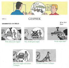 Audiovisuele Methode Nederlands - Les 2 : Gesprek (grammatica in beeld)