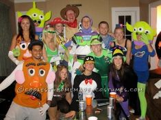 Creating this Toy Story group costumewith my closest friends was nothing short of exciting. We wanted to dress up together, but there was so many of...